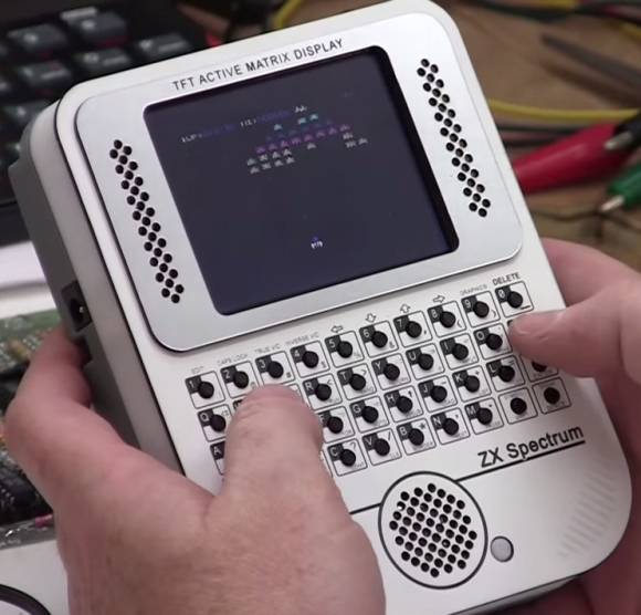 Image of Handheld ZX Spectrum.