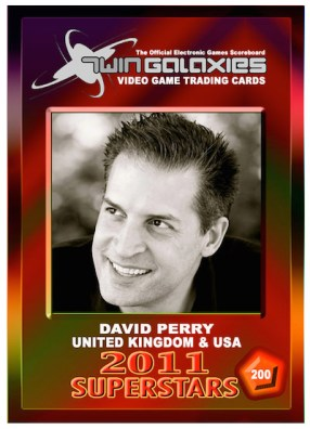 David Perry - Trading Card